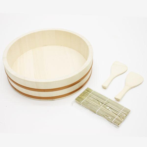 天然木飯台 手巻き寿司4点セット