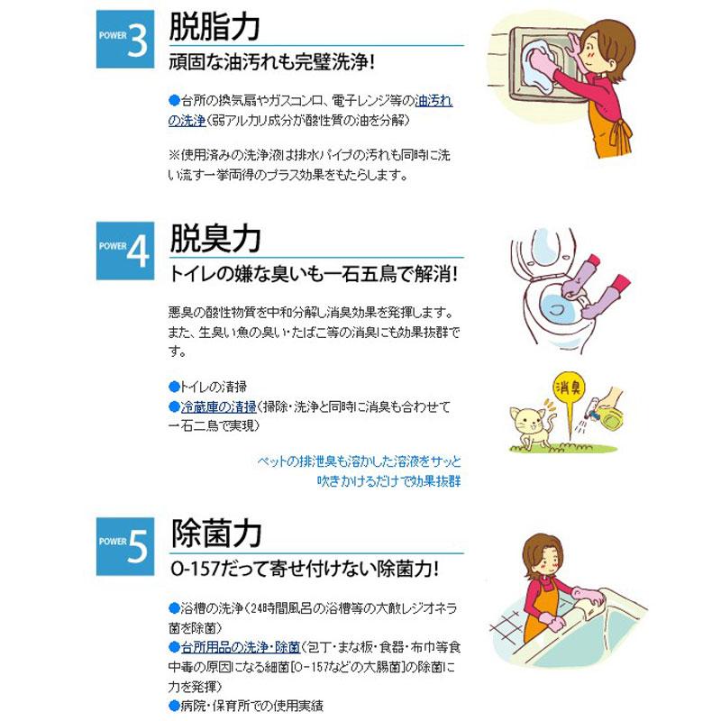 過炭酸ナトリウム(酸素系)洗浄剤『きれいッ粉』(300g)