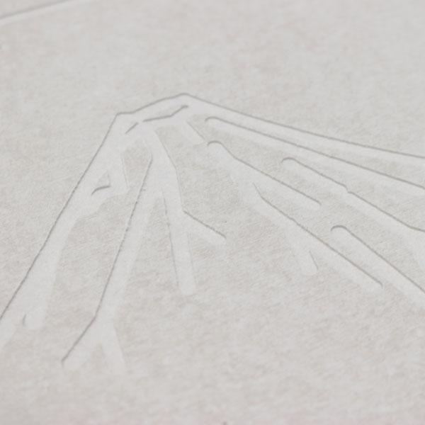 珪藻土バスマット【富士】HZ-KBM-FU01