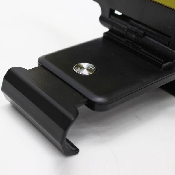 昼夜兼用カーサンバイザー(ボタン式伸縮タイプ/2.5mm ブラック)