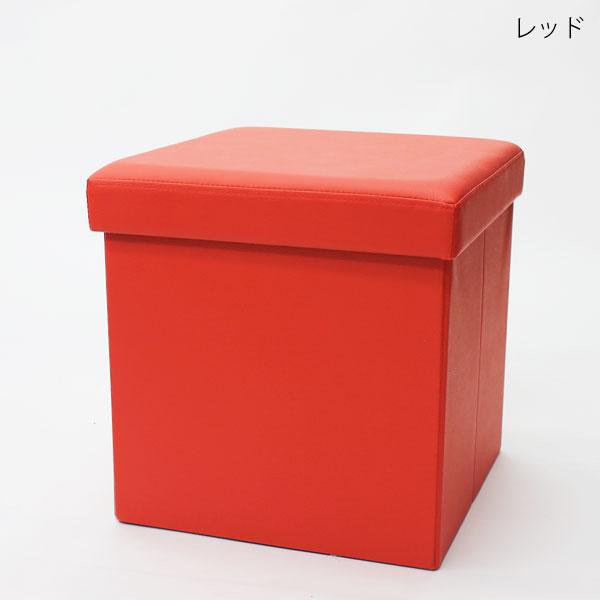 折りたたみスツールBOX SQUARE PVC