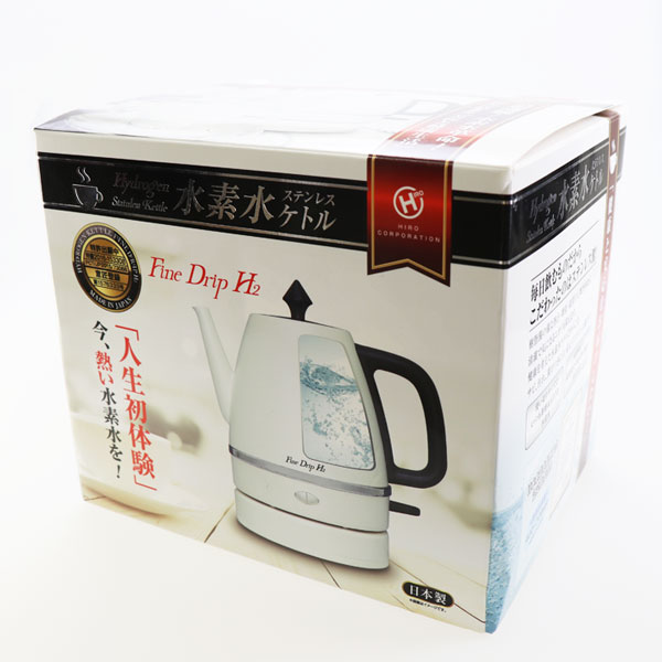 水素水ステンレスケトル KT-FD001