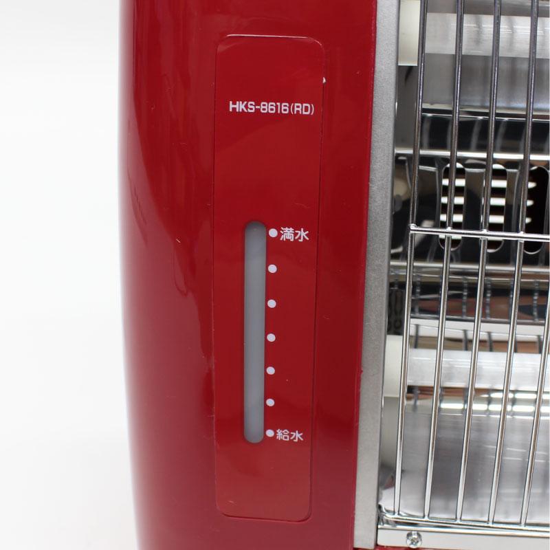 スチーム機能付き電気ストーブ HKS-8616