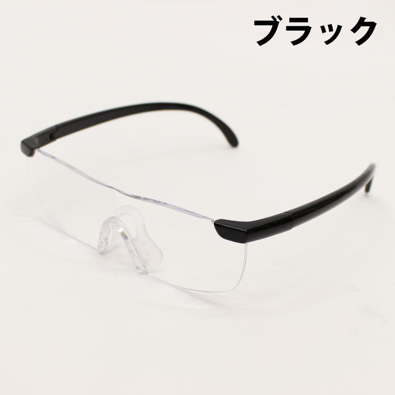 ブルーライトカット メガネ式ルーペ(フレームなしタイプ)【F/G】