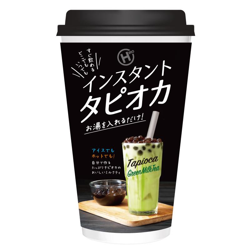 【9月上旬入荷予定】インスタントタピオカグリーンミルクティー