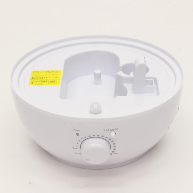 超音波アロマLED加湿器 レイドロップ2.4L KH-201(N)WH