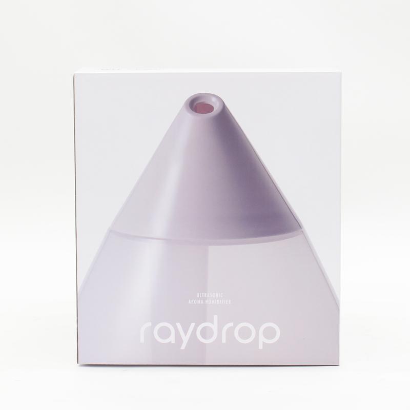 超音波アロマLED加湿器 レイドロップ 3.8L KH-308(N)WH
