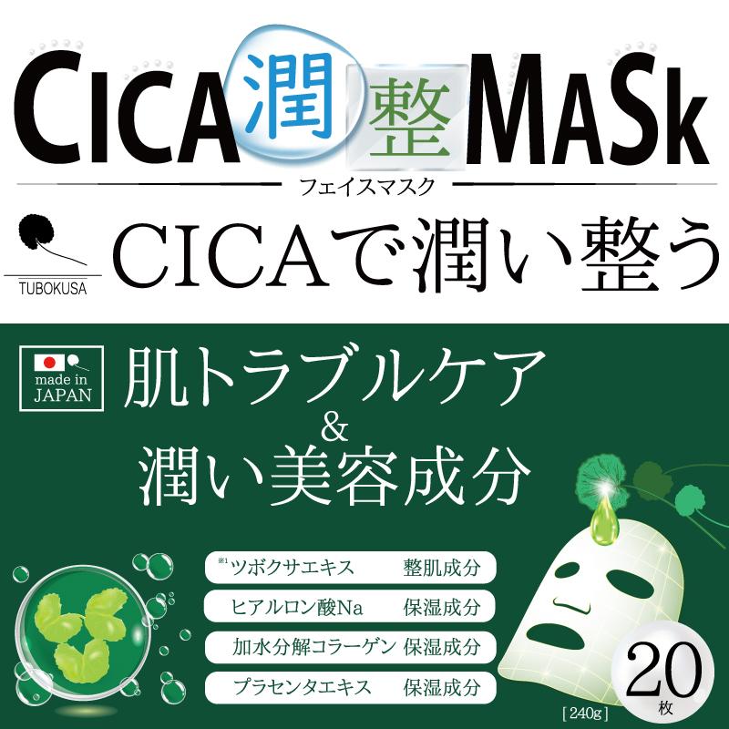 CICA潤整マスク 20枚入り HC-CJSFM001