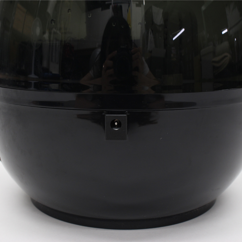 超音波アロマLED加湿器 レイドロップ 3.8L KH-309BK