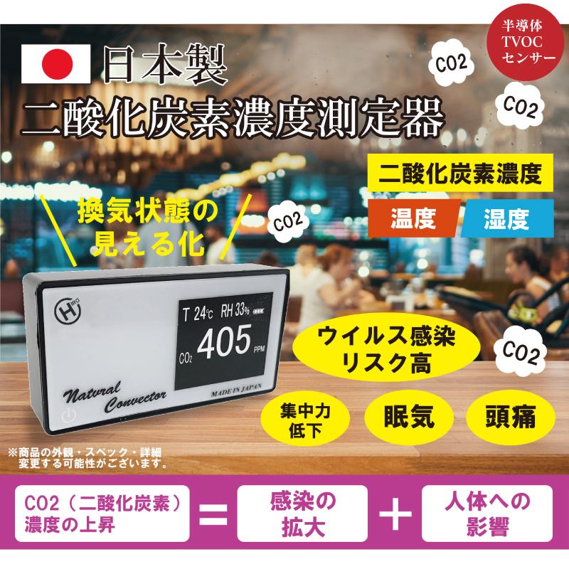 日本製CO2高感度密度計 デンサトメーター HCOM-JPCO2-001