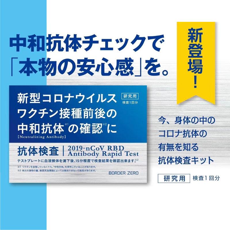 【予約受付中】新型コロナウイルス抗体検査キット BZ-ART-TK02