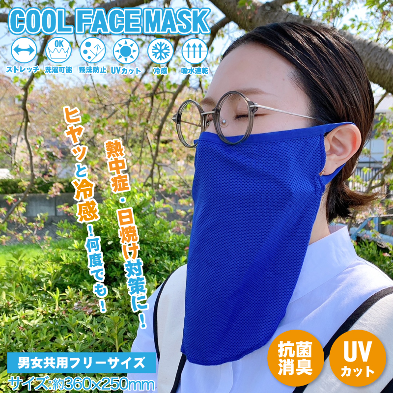 COOL FACE MASK クールフェイスマスク DLMZ21002